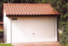 Doppelgarage satteldach kosten  VARIO FLEX GARAGE - Fertiggaragen mit Satteldach