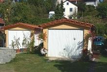 vario flex garage fertiggaragen mit satteldach. Black Bedroom Furniture Sets. Home Design Ideas