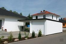 vario flex garage carports mit pultdach. Black Bedroom Furniture Sets. Home Design Ideas